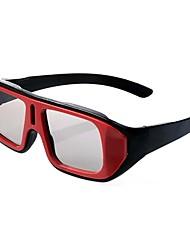 luz modelado retardador gafas 3D polarizadas generales para tv