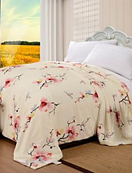 Pure Silk Air-Condition Plum Blossom Summer Quilt