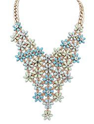 Sybal Women's Modern Flower Alloy Necklace