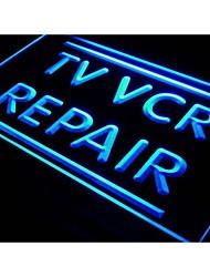 i611 TV VCR Repair Television Reorder NEW Light Sign