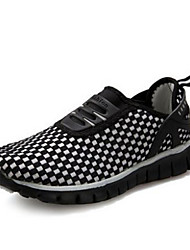Women's Running Shoes Nylon Low Heel Comfort / Round Toe Athletic Shoes Outdoor / Athletic Black / Green