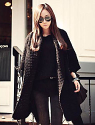 Women's Have Gone Long Coat Shawl Loose Sweater