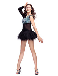 Special Tulle Sequined Lace Ballet Dance Dress For Women And Kids More Colors