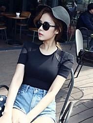 Standard - Medium - Sexy/Bodycon/Leger - T-Shirt (Gitter/Organische Baumwolle)