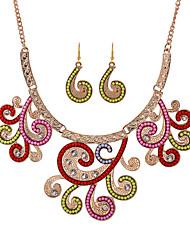 Women's Alloy Jewelry Set Multi-stone
