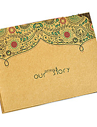 Paste Black Card Inside Design of OUR STORY Letter Album