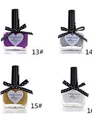 1pcs bonbons de couleur de vernis à ongles dentelle papillon bouteille no.13-16 (de couleurs assorties)