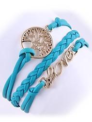(1 pc) di modo della catena della lega di moda amore 5.1cm delle donne&Link bracciale