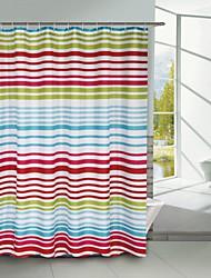 línea continua ducha modelo de la cortina