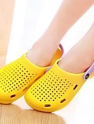 zapatos de las mujeres del dedo del pie redondo zuecos de tacón bajo&zapatos mulas más colores disponibles