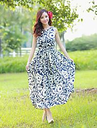 Women's Dresses , Chiffon Splan