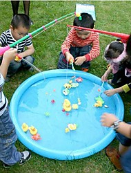 Five Ducks Pack Hook A Duck Party Game Water Toys