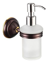 Bathroom Accessories Solid Brass Soap Dispenser  Oil Rubbed Bronze