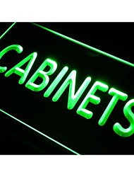 gabinetes I289 señal de luz de neón
