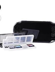 10 in 1 Spiel, Speicherkartenhalter Fall Aufbewahrungsbox für PSV PS Vita