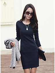 xiaonvren Bodycon Dress_X40(Navy Blue)