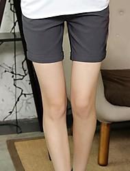 Women's Black/Gray/Pink Shorts Pants , Bodycon/Casual/Party/Plus Sizes