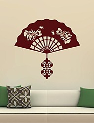 Wall Stickers Wall Decals, Classical Fan PVC Wall Stickers
