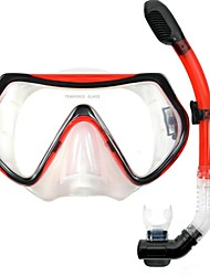 OceanPro maschera per adulti eden snorkel secco p4001 + P5001