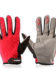 Glove Cycling / Bike All / Men's Full-finger Gloves Anti-skidding / Breathable Autumn / Summer / Spring Red / Others M - INBIKE