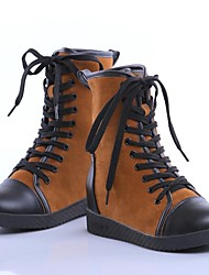 Women's Shoes Combat Boots Low Heel Suede Ankle Boots More Colors Available