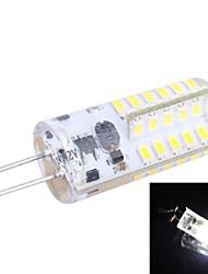 g4 2,5 W 150lm 7000K 48x3014 weiße LED Glühbirne (DC 12V)