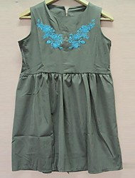 Women's Fashion Chiffon Sleeveless Dress