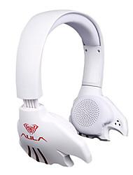 aula usb headset 7.1 juegos deportivos auriculares, auriculares con micrófono de computadora