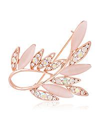 Daisy Women's Fashion Opal Diamond  Brooch