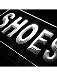 i999 Shoes Supplier Shop Display Metal LED Light Sign