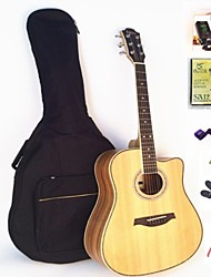 IRIN Folk The Acoustic Guitar 41 Inches+Package+Tuner+Strings+Capo+Grover+Plectrum+Strap