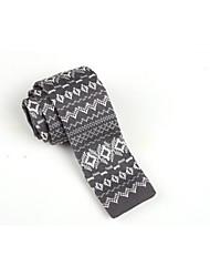 sktejoan® moda masculina estilo korea lazer malha empate (largura: 5cm)