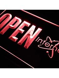 j822 loja sala de internet aberta wi fi nr sinal de luz neon