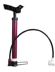 INBIKE Fuchsia Portable Household Short Bike Pump
