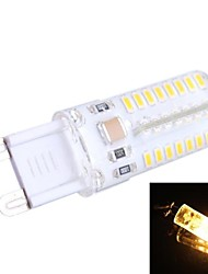 G9 3W 180lm 3200k 64x3014 branco quente lâmpada LED (AC 200-240 V / 100-120 ac)