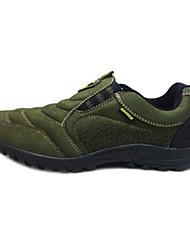 Chaussures homme ( Noir/Marron/Vert ) - Cuir - Marche