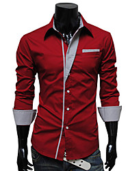 мелодия полоса длинный рукав Bodycon рубашка