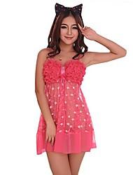 ciruela transparente de dnyh®women spots pijama sexy
