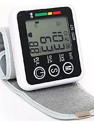 jzk-002a voz transmitido monitor de pressão arterial de pulso tela LCD inteligente