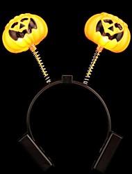 fournitures Halloween conduit luminescence citrouille bandeau