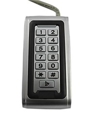 Waterproof EM Smart Card/Keypad Metal Access Control System with Standalone Function For PY-S600