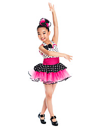 Kids' Dancewear Tutu Ballet Spandex And Tulle Dance Dress Kids Dance Costumes
