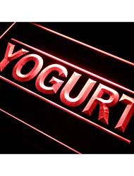 i285 tienda de yogur signo luz de neón