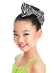 Performance/Dancewear Satin Flower Headpiece With Bow For Kids