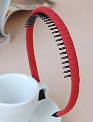 coreano multa dentadas faixas de cabelo pano práticos entrega aleatória