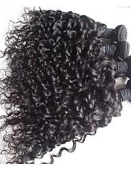 4pcs 12inch&14inch&16inch&18-Zoll-Klasse 5a reine brasilianische Menschenhaarwasserwelle Haarverlängerungen / webt