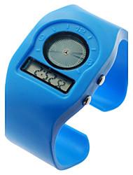 Unisex Multi-Funcional de plástico Band Digital relógio de pulso (cores sortidas)