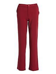 fermeture à glissière de pantalon de femmes uniformes de spa