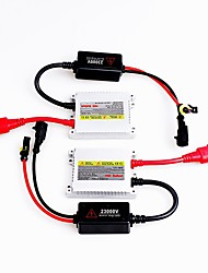 12V 55W H7C Slim Hid Xenon Quick Start Aluminum Ballasts for Hid Headlights