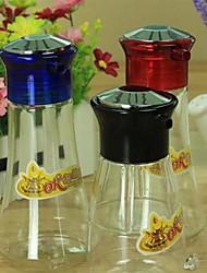 garrafas de cozinha suprimentos tempero pequeno, 6.3x5.5x13.5cm plástico